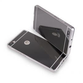 Etui Luxury Mirror Bumper Huawei P8 Lite Grey