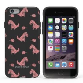 "Etui PureGear Slim Shell Motif iPhone 6 6S 4,7"" Pink Dinosaur"