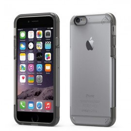 Etui PureGear Slim Shell Pro iPhone 6/6s Clear/Light Grey