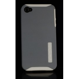 Incipio Dual Pro iPhone 4 4s White/Silver