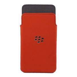 Microfibre Pocket Blackberry Z10 Red