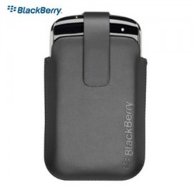 Leather Pocket Holster Blackberry 9350/9360/9370 Black
