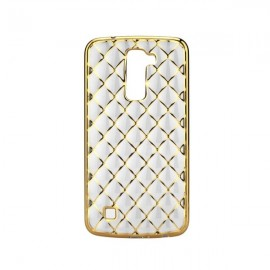 Etui Luxury Gel LG K10 Gold