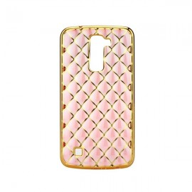 Etui Luxury Gel LG K10 Rose Gold