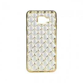 Etui Luxury Gel Samsung Galaxy A3 2016 Gold