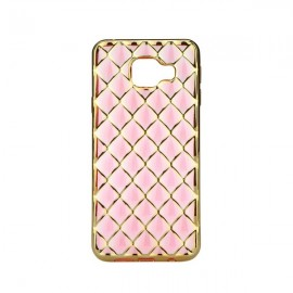Etui Luxury Gel Samsung Galaxy A3 2016 Rose Gold
