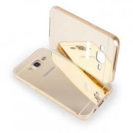 Etui Luxury Mirror Bumper Samsung Galaxy A3 Gold