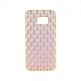 Etui Luxury Gel Samsung Galaxy S6 Edge Rose Gold