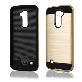 Etui Motomo Case LG K10 Gold