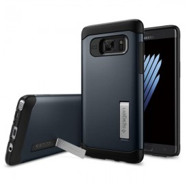 Etui Spigen Slim Armor Samsung Galaxy Note 7 Metal Slate