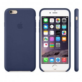 Leather Case iPhone 6 Plus Midnight Blue