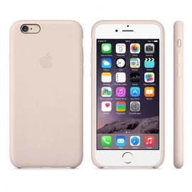 Leather Case iPhone 6 Plus Soft Pink