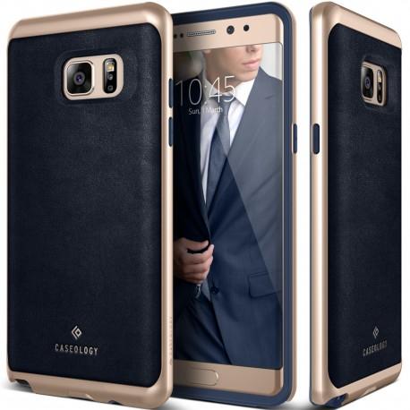 Etui Caseology Envoy Samsung Galaxy Note 7 Leather Navy Blue