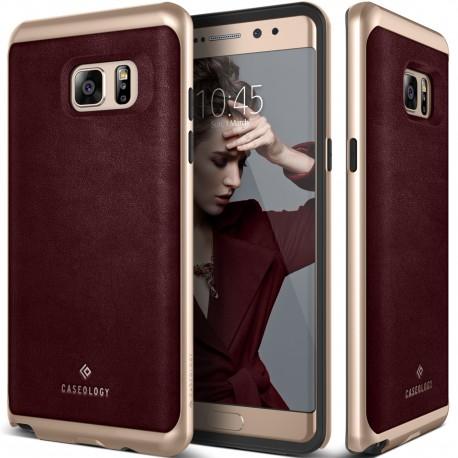 Etui Caseology Envoy Samsung Galaxy Note 7 Leather Cherry