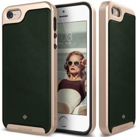 Etui Caseology Envoy iPhone 5 5s SE Leather Green