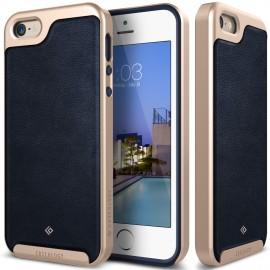 Etui Caseology Envoy iPhone 5 5s SE Leather Navy Blue