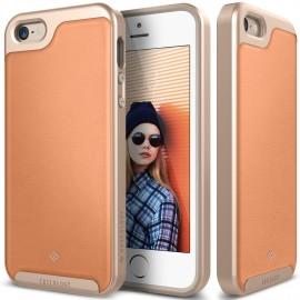 Etui Caseology Envoy iPhone 5 5s SE Leather Pink