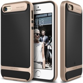 Etui Caseology Wavelenght iPhone 5 5s SE Black/Gold