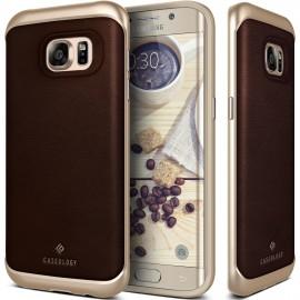 Etui Caseology Envoy Samsung Galaxy S7 Edge Leather Brown