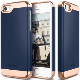 Etui Caseology Savoy iPhone 5 5s SE Navy Blue