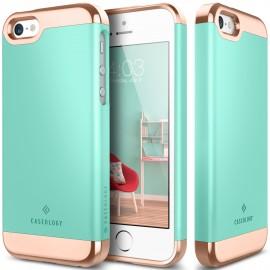 Etui Caseology Savoy iPhone 5 5s SE Turquoise Mint