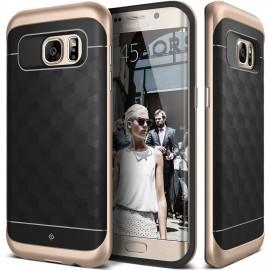 Etui Caseology Parallax Samsung Galaxy S7 Edge Black / Gold