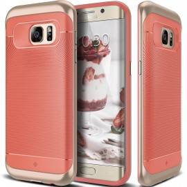 Etui Caseology Wavelenght Samsung Galaxy S7 Edge Coral Pink
