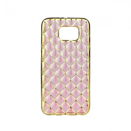 Etui Luxury Gel Samsung Galaxy J3 2016 Rose Gold