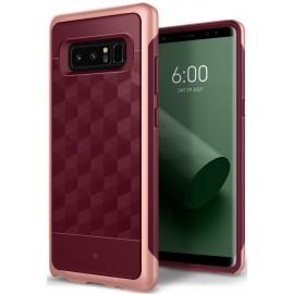 Etui Caseology Samsung Galaxy Note 8 Parallax Burgundy