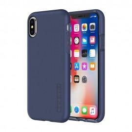 Etui Incipio iPhone X DualPro Iridescent Midnight Blue