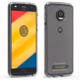 Etui PureGear Slim Shell Moto Z2 Play / Moto Z2 Force Clear