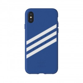 Etui Adidas iPhone X Suede Moulded Blue