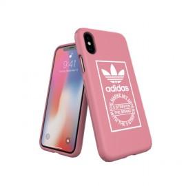 Etui Adidas iPhone X TPE HardCover Pink