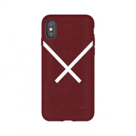 Etui Adidas iPhone X XBYO Moulded Case Burgundy