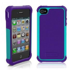 Ballistic Tough Jacket iPhone 4/4s Purple/Teal