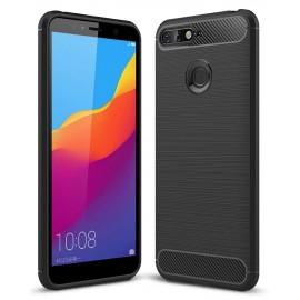 Futerał Forcell CARBON Huawei Y6 2018 Prime Black