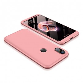 Etui 360 Protection Xiaomi Redmi Note 5 Pink