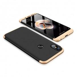 Etui 360 Protection Xiaomi Redmi Note 5 Black Gold