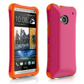 Ballistic Urbanite HTC One M7 Hot Pink/Tangerine