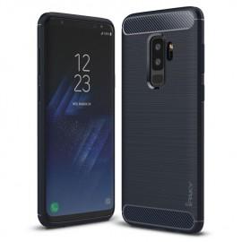 Etui iPaky Samsung Galaxy S9+ Slim Carbon Blue