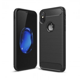 Etui iPaky iPhone X Slim Carbon Black