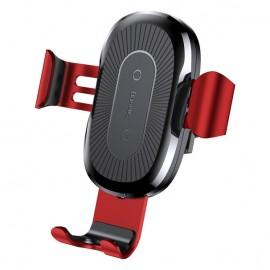 Uchwyt Samochodowy Baseus Gravity Vent QI Wireless Charger