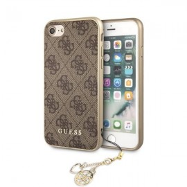 Etui Guess Iphone 7 / 8 4G Charms Brown