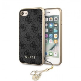 Etui Guess Iphone 7 / 8 4G Charms Grey