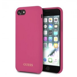 Etui Guess Iphone 7 / 8 Silicone Pink