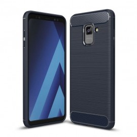 Etui CARBON Samsung Galaxy A8 2018 Blue