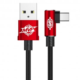 Kabel USB-C Baseus MVP Elbow Red