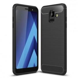 Futerał CARBON Samsung Galaxy A6 Czarny