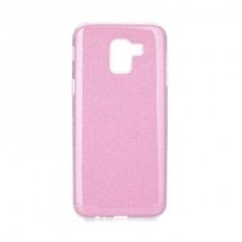 Etui Futerał Samsung Galaxy J6 2018 SHINING Pink