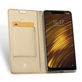 Etui DuxDucis SkinPro Xiaomi Pocophone F1 Gold